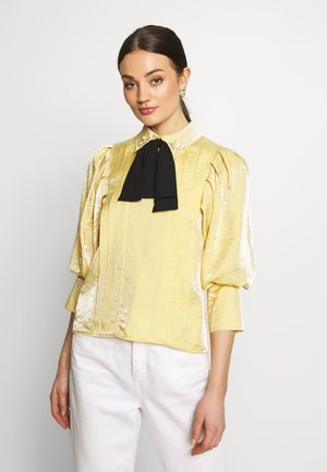 SUNSHINE BOW BLOUSE - Blouse - yellow