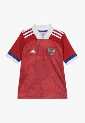RUSSIA RFU HOME JERSEY - Oblečení národního týmu - red