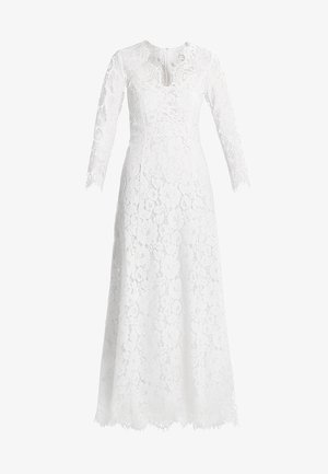 FLARED DRESS - Robe de cocktail - snow white