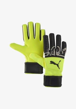 Goalkeeping gloves - gelbschwarzweiss