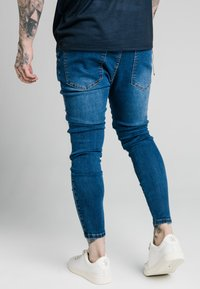 SIKSILK - DISTRESSED PATCH - Jeans Skinny Fit - midstone - 4