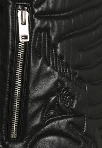 Diesel - L-FUTURE GIACCA - Leather jacket - black - 2