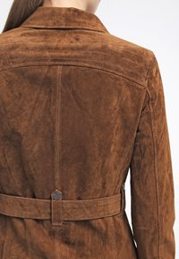 Freaky Nation - MODERN TIMES - Leather jacket - camel - 5