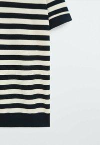Massimo Dutti - Polo shirt - blue black denim - 6