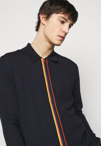 Paul Smith - GENTS CARDIGAN ZIP THRU - Cardigan - dark blue - 3