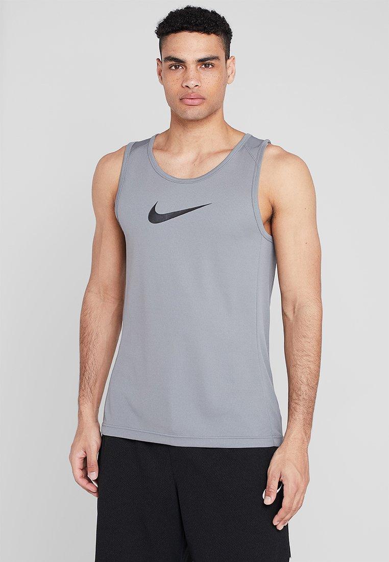 Nike Performance - CROSSOVER - Tekninen urheilupaita - grey