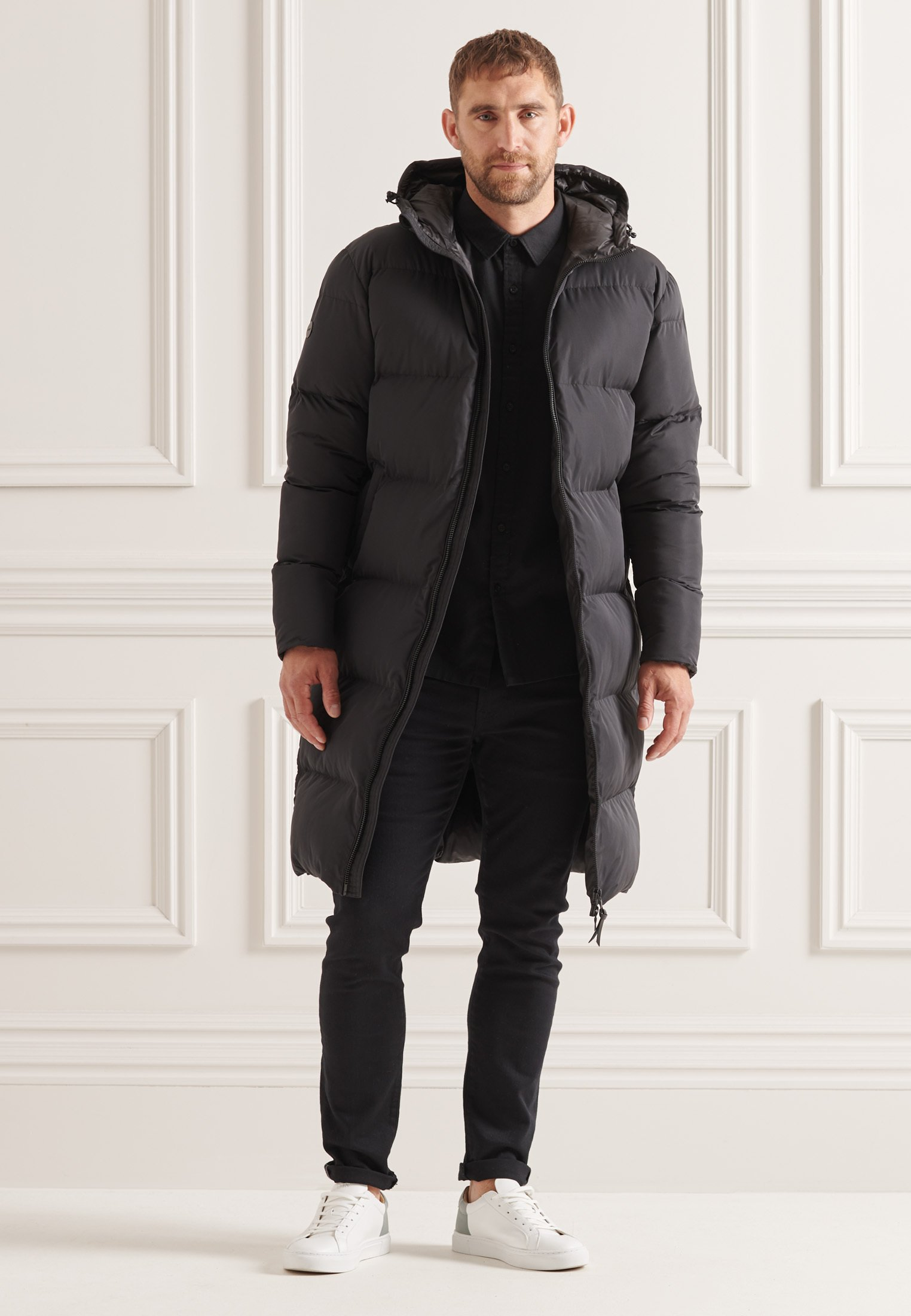 Men STUDIOS LONGLINE DUVET  - Winter coat