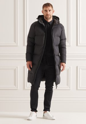 STUDIOS LONGLINE DUVET  - Winter coat - black