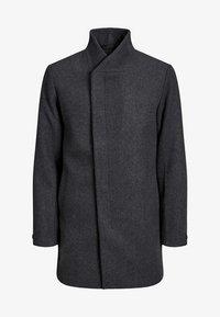 JPRCOLLUM - Short coat - dark grey melange