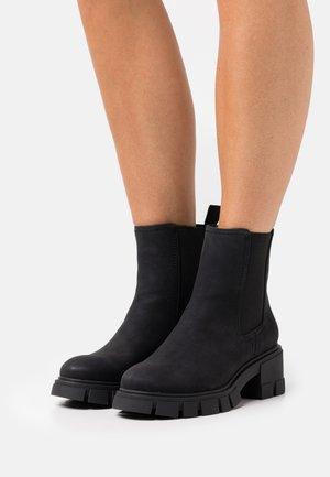 VEGAN LOGANN - Platform ankle boots - black