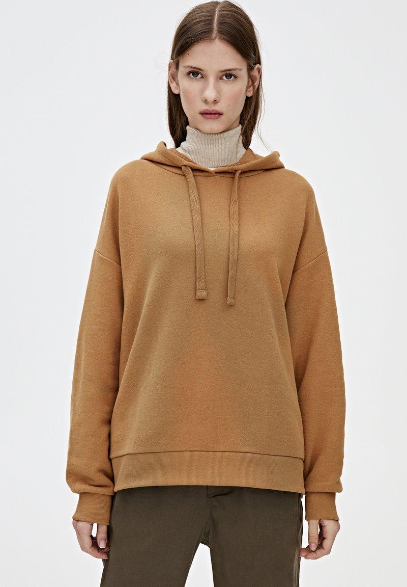 PULL&BEAR - Hoodie - brown