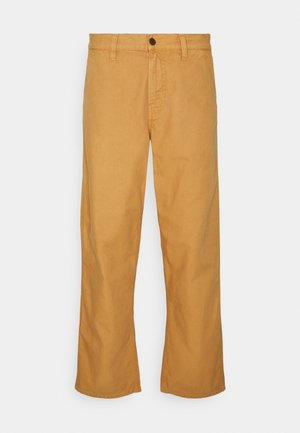 LAZY LEO - Kalhoty - worker ochre