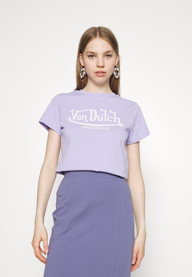 ALEXIS - Print T-shirt - lavender