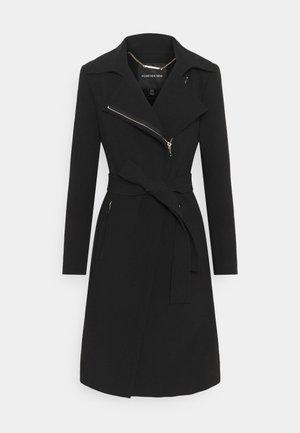 CASSANDRA COAT - Płaszcz wełniany /Płaszcz klasyczny - black