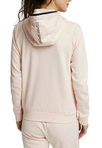 Esprit Sports - KAPUZEN - Zip-up hoodie - peach - 4