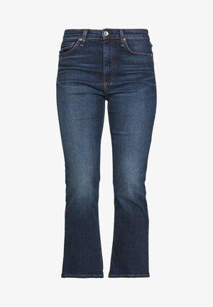 NINA ANKLE FLARE - Flared Jeans - blue denim