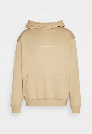 MENNACE ESSENTIAL HOODIE - Sweatshirt - brown
