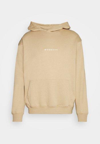 MENNACE ESSENTIAL HOODIE - Sweatshirt - brown