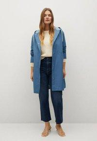 Violeta by Mango - Classic coat - niebieski - 1