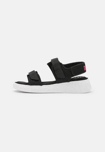 MAVIS - Platform sandals - black