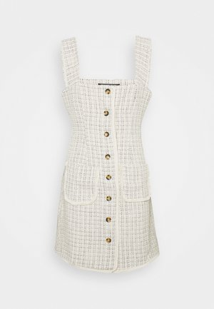 AYANNA DRESS - Denní šaty - cream