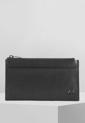 PIQUADRO BLACK SQUARE KREDITKARTENETUI LEDER 14,5 CM - Business card holder - black