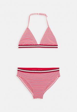 ZETTA SET - Bikinier - red lollipop