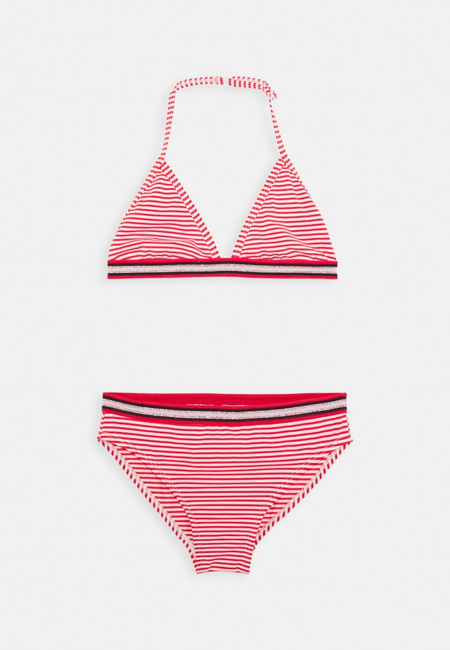 ZETTA SET - Bikini - red lollipop