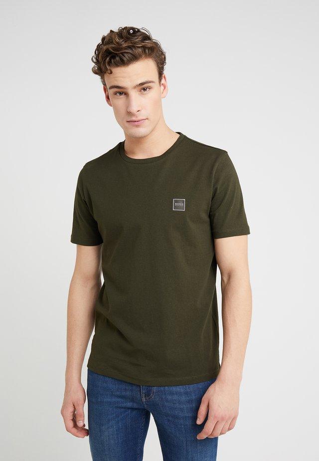 TALES - Basic T-shirt - open green