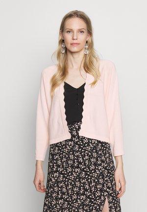BOLERO W LACE - Kardigan - pastel pink