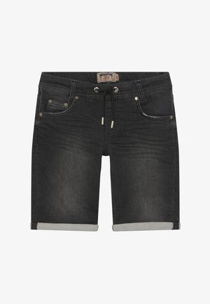 BOYS - Jeansshort - black medium