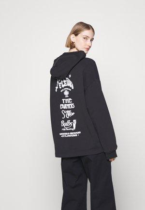 PLACE PRINT HOODIE - Sweatshirt - black