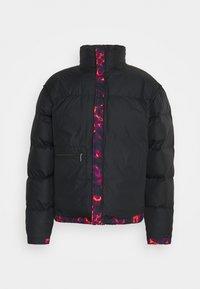 The North Face - PRINTED RETRO NUPTSE JACKET UNISEX - Down jacket - black - 1