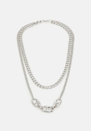 UNISEX - Necklace - silver-coloured