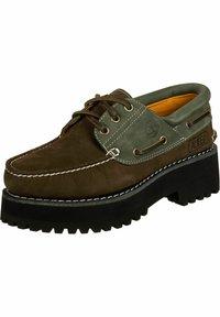Timberland - Trainers - dark brown - 1