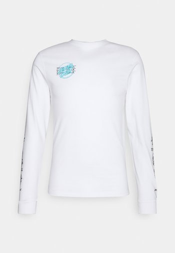 MIXED UP CRIME HAND UNISEX - Long sleeved top - white