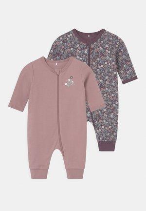 NBFNIGHTSUIT 2 PACK - Pyjama - black plum