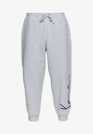 SIGNATURE RETRO - Trainingsbroek - grey/black