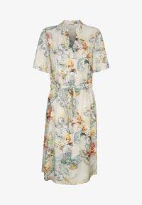 Alba Moda - Day dress - creme-weiß,lindgrün,grau - 6