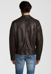 Capitano - IOWA - Leather jacket - dark brown - 2