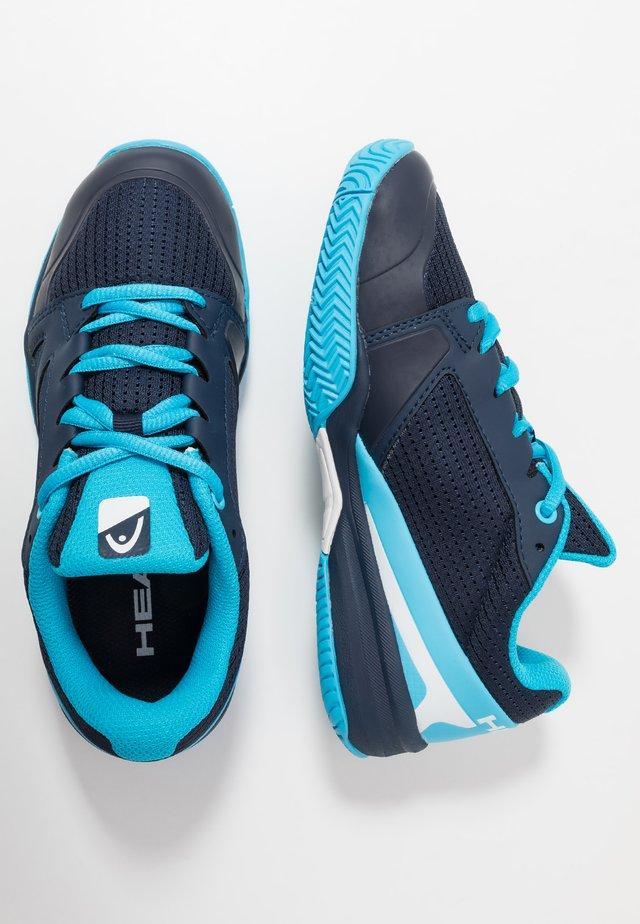 SPRINT 2.5 JUNIOR - Multicourt tennis shoes - dark blue/aqua