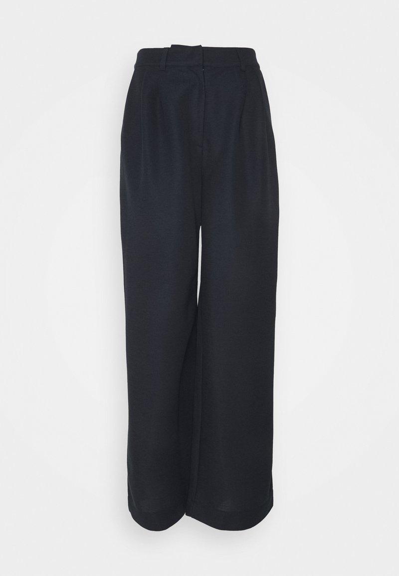Esprit Collection - ECO VERO PANT - Trousers - navy