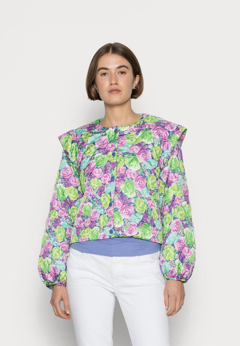 Cras - QUINCRAS JACKET - Light jacket - green/light blue/pink