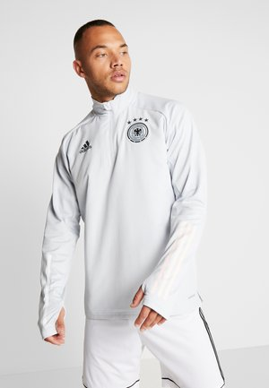 DEUTSCHLAND DFB WARM-UP TOP - Article de supporter - cool grey