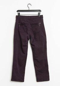 Bonita - Trousers - purple - 1