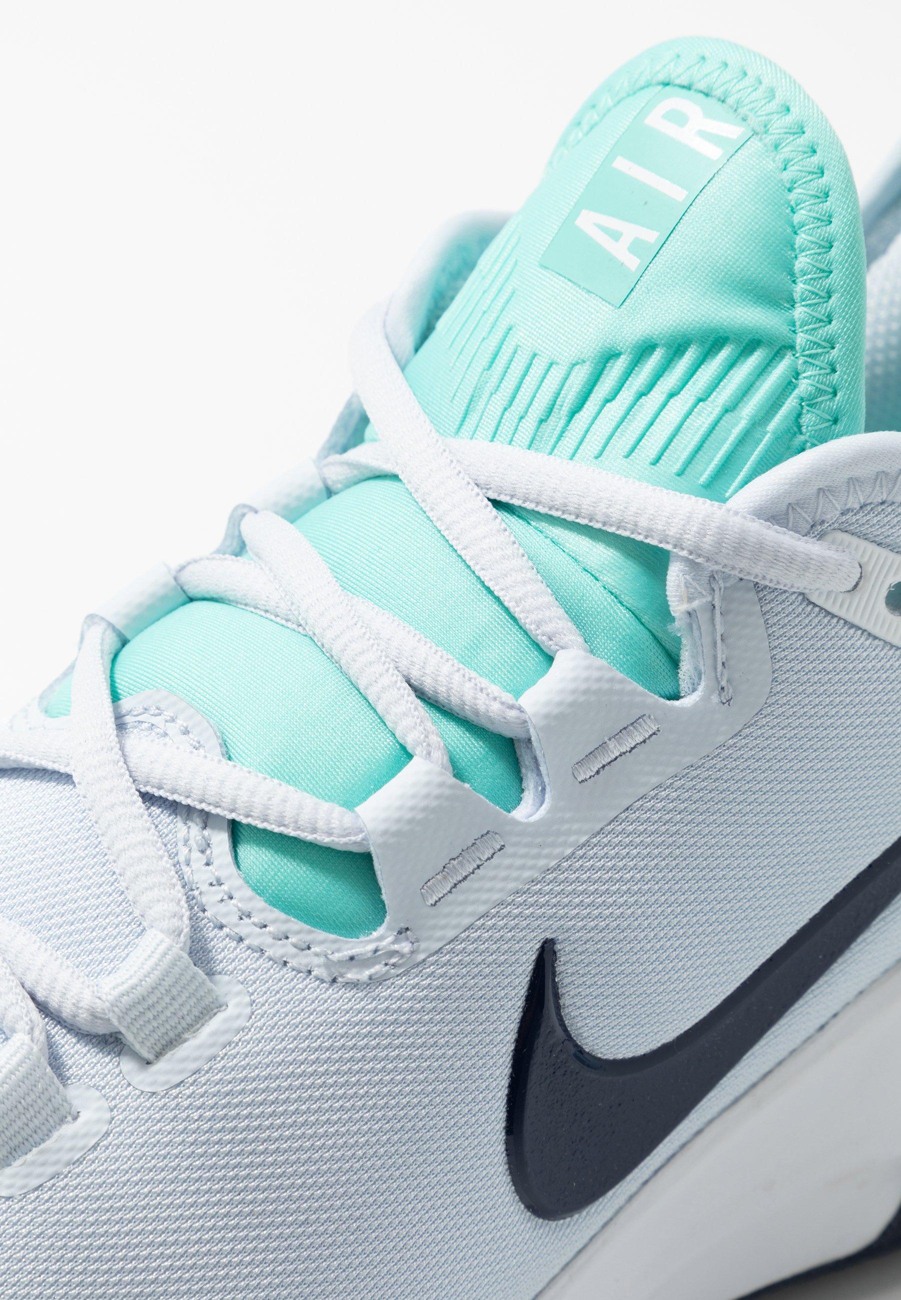 Nike Performance Clay court tennissko - metallic silver
