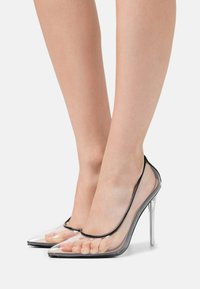 BEBO - EPOXY - High heels - clear/black - 0