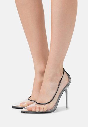 EPOXY - High heels - clear/black