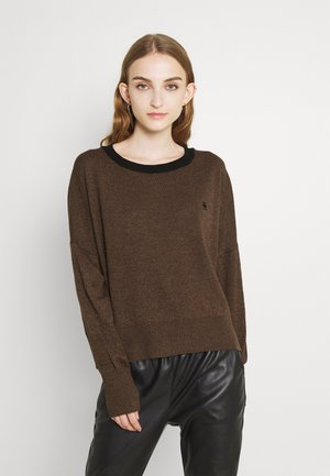 CORE R KNIT - Jumper - toasted heather
