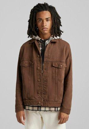 Giacca di jeans - brown